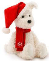 """Мягкая игрушка """"Пёс Санта"""" (30 см)"""