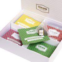 """Набор чая """"Vkus"""" (40 пакетиков)"""