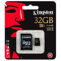 Карта памяти micro SDHC 32Gb Kingston Class 10 UHS-I (с адаптером)