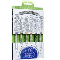 """Набор для выращивания растений """"Растущий карандаш. Итальянские травы"""" (цветные; 6 шт.)"""