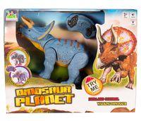 """Игрушка на радиоуправлении """"Динозавр Трицератопс"""""""
