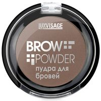 "Пудра для бровей ""Brow Powder"" тон: 2, soft brown"
