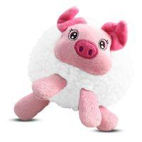 """Игрушка для собак """"Свинка плюшевая"""" (13 см)"""