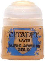 """Краска акриловая """"Citadel Layer"""" (auric armour gold; 12 мл)"""
