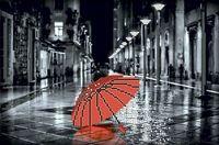 """Вышивка бисером """"Красный зонтик"""""""