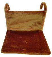 Гамак для кошек (43х32х20 см; коричневый)
