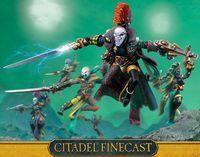 "Миниатюра ""Warhammer 40.000. Finecast: Dark Eldar Harlequin Troupe"" (46-48)"