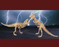 """Сборная деревянная модель """"Тираннозавр"""" (2в1)"""