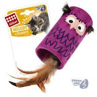 """Игрушка для кошек со звуковым чипом """"Сова-цилиндр"""" (22 см)"""