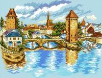"""Канва с нанесенным рисунком """"Страсбург"""""""