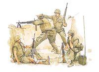 """Набор миниатюр """"U.S. Marines (Khe Sanh 1968)"""" (масштаб: 1/35)"""