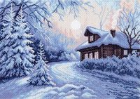 "Канва с нанесенным рисунком ""Мороз"""