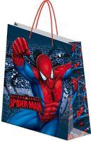 """Пакет бумажный подарочный """"Spider-Man"""" (28х34х9 см; арт. SMRC-12G-2834-BG)"""