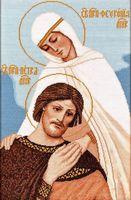 """Вышивка крестом """"Петр и Феврония"""" (арт. 1081)"""