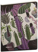 """Тетрадь полуобщая в клетку """"Цветочный калейдоскоп"""" (48 листов; в ассортименте)"""