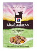 """Пресервы для кошек """"Ideal Balance"""" (85 г; индейка и овощи)"""
