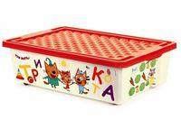 """Ящик для хранения игрушек """"Три кота. Обучайка"""" (арт. LA1426)"""