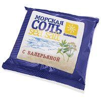"""Соль для ванн """"Морская природная с валерьяной"""" (1 кг)"""