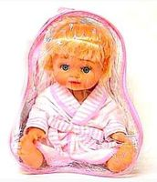 Кукла в халатике (в сумке)
