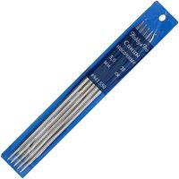 Спицы чулочные для вязания (металл; 5 мм; 20 см)