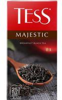 """Чай черный """"Tess. Majestic"""" (25 пакетиков)"""