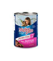 """Консервы для кошек """"Gatto"""" (405 г; рубец, ягненок и морковь)"""