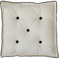 """Подушка на стул """"Домино"""" (45х45 см; белая)"""