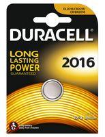 Батарейка DURACELL литиевая для электронных приборов 3V 2016