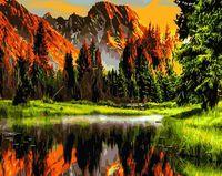 "Картина по номерам ""Горный пейзаж"" (400х500 мм; арт. PC4050196)"