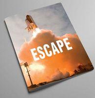 """Обложка на паспорт """"Escape to universe"""""""