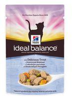 """Пресервы для кошек """"Ideal Balance"""" (85 г; форель и овощи)"""
