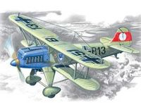 Германский истребитель-биплан Хейнкель Не-51 А-1 (масштаб: 1/72)