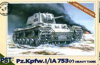 Тяжелый танк Pz.Kpfw.I/IA 753(r) (масштаб: 1/72)