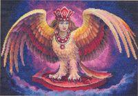 """Вышивка крестом """"Волшебная птица"""""""