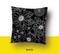 "Наволочка хлопковая ""Black"" (70x70 см)"