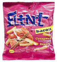 """Сухарики пшенично-ржаные """"Flint. Бекон"""" (35 г)"""