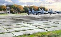 Советские плиты аэродромного покрытия ПАГ-14 (масштаб: 1/72)