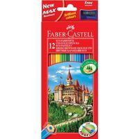 """Набор карандашей цветных Faber-Castell ECO """"Замок"""" (12 цветов)"""