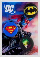 """Набор значков маленьких """"Вселенная DC"""" (арт. 185)"""