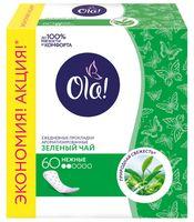 """Ежедневные прокладки """"OLA! Daily Deo. Зеленый чай"""" (60 шт)"""