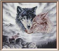 """Вышивка бисером """"Воспоминания волчицы"""""""