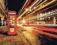 """Картина по номерам """"Ночной Лондон"""" (400x500 мм)"""