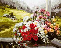 """Картина по номерам """"Альпийский пейзаж"""" (400х500 мм; арт. PC4050206)"""