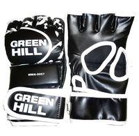 Перчатки MMA-0057 (L; чёрные)