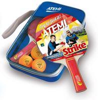 """Набор для настольного тенниса """"Strike"""" (2 ракетки+3 мяча+чехол; 3 звезды)"""