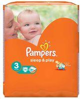 """Подгузники """"Pampers Sleep&Play Chamomile Midi"""" (4-9 кг, 16 шт, арт. 0001010715)"""