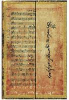 """Записная книжка Paperblanks """"Моцарт. Квартет No.17 Охота"""" в линейку (формат: 100*140 мм, мини)"""