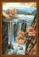 """Вышивка крестом """"Водопад"""""""