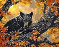 "Картина по номерам ""Мишка на дереве"" (400х500 мм; арт. PC4050207)"