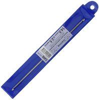 Крючок для вязания двухсторонний (металл; 2.5 мм)